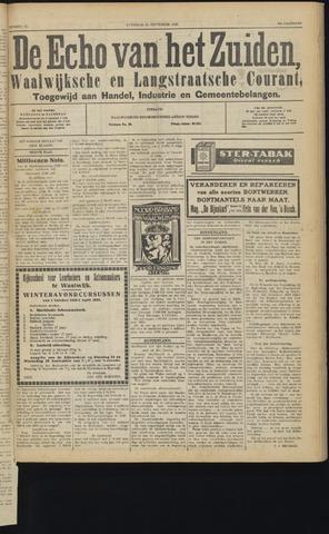 Echo van het Zuiden 1929-09-21