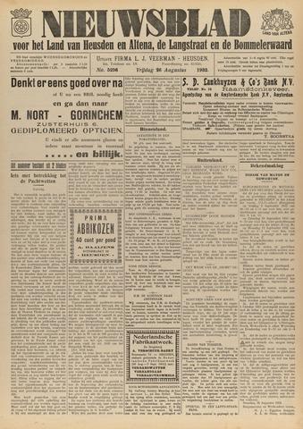 Nieuwsblad het land van Heusden en Altena de Langstraat en de Bommelerwaard 1932-08-26