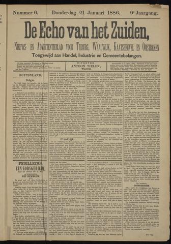Echo van het Zuiden 1886-01-21
