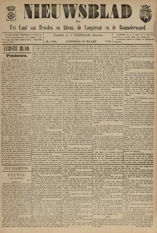 Nieuwsblad het land van Heusden en Altena de Langstraat en de Bommelerwaard 1895-03-23