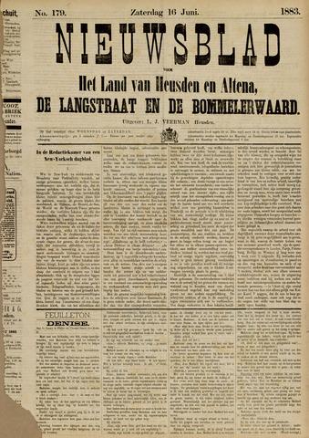 Nieuwsblad het land van Heusden en Altena de Langstraat en de Bommelerwaard 1883-06-16