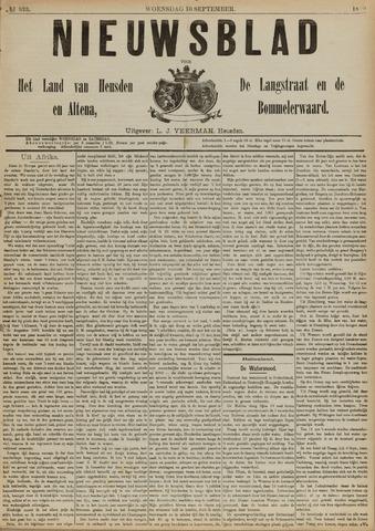 Nieuwsblad het land van Heusden en Altena de Langstraat en de Bommelerwaard 1890-09-10