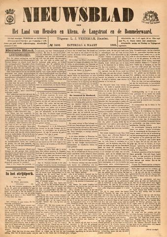 Nieuwsblad het land van Heusden en Altena de Langstraat en de Bommelerwaard 1905-03-04