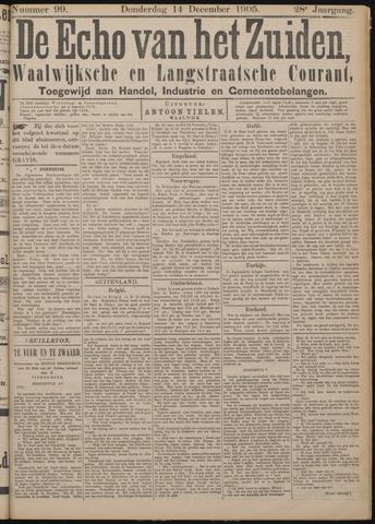 Echo van het Zuiden 1905-12-14