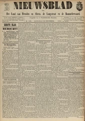 Nieuwsblad het land van Heusden en Altena de Langstraat en de Bommelerwaard 1892-12-24