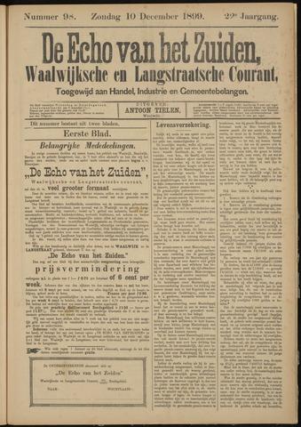 Echo van het Zuiden 1899-12-10