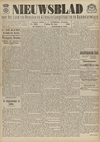 Nieuwsblad het land van Heusden en Altena de Langstraat en de Bommelerwaard 1923-06-22