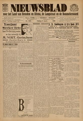 Nieuwsblad het land van Heusden en Altena de Langstraat en de Bommelerwaard 1936-04-03