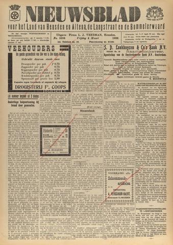 Nieuwsblad het land van Heusden en Altena de Langstraat en de Bommelerwaard 1932-03-04