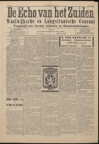Echo van het Zuiden 1927-01-19