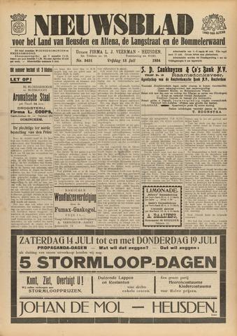 Nieuwsblad het land van Heusden en Altena de Langstraat en de Bommelerwaard 1934-07-13