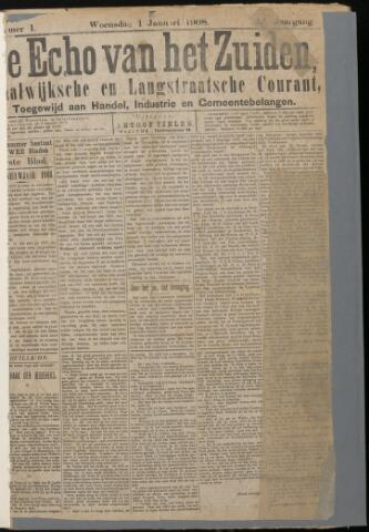 Echo van het Zuiden 1908-01-01