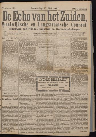Echo van het Zuiden 1917-05-17
