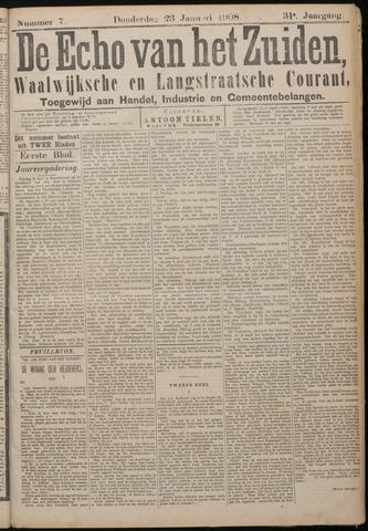 Echo van het Zuiden 1908-01-23