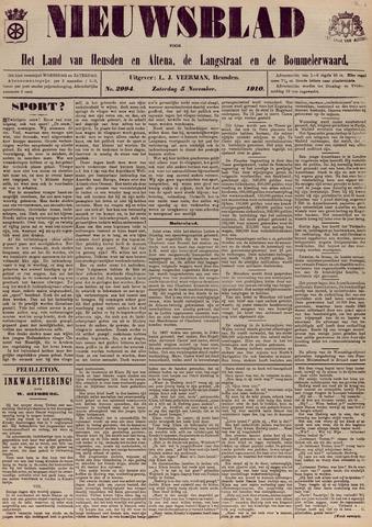 Nieuwsblad het land van Heusden en Altena de Langstraat en de Bommelerwaard 1910-11-05