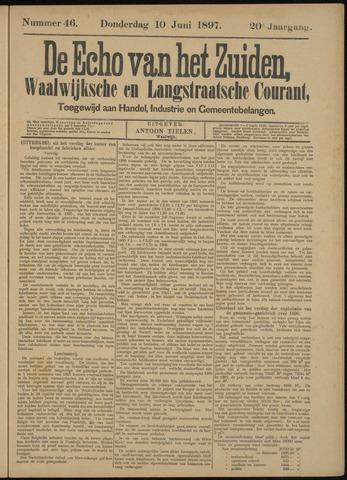 Echo van het Zuiden 1897-06-10