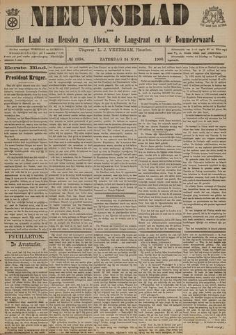 Nieuwsblad het land van Heusden en Altena de Langstraat en de Bommelerwaard 1900-11-24