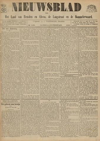 Nieuwsblad het land van Heusden en Altena de Langstraat en de Bommelerwaard 1896-02-29