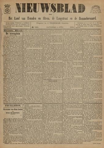 Nieuwsblad het land van Heusden en Altena de Langstraat en de Bommelerwaard 1896-07-04