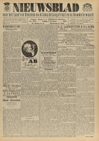 Nieuwsblad het land van Heusden en Altena de Langstraat en de Bommelerwaard 1927-12-02