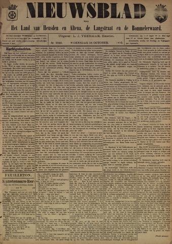 Nieuwsblad het land van Heusden en Altena de Langstraat en de Bommelerwaard 1893-10-18