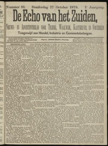 Echo van het Zuiden 1878-10-17