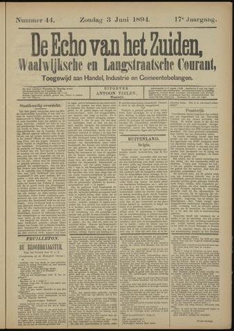 Echo van het Zuiden 1894-06-03
