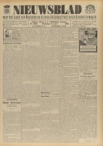 Nieuwsblad het land van Heusden en Altena de Langstraat en de Bommelerwaard 1928-04-18