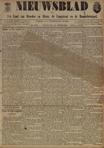 Nieuwsblad het land van Heusden en Altena de Langstraat en de Bommelerwaard 1894-02-21