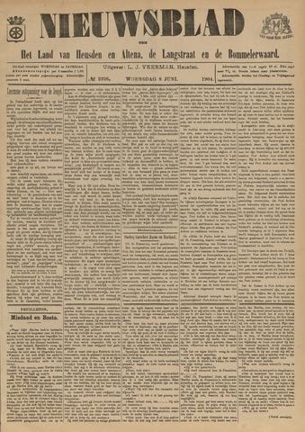 Nieuwsblad het land van Heusden en Altena de Langstraat en de Bommelerwaard 1904-06-08