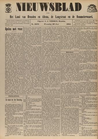 Nieuwsblad het land van Heusden en Altena de Langstraat en de Bommelerwaard 1915-06-23