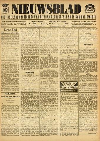 Nieuwsblad het land van Heusden en Altena de Langstraat en de Bommelerwaard 1927-02-16