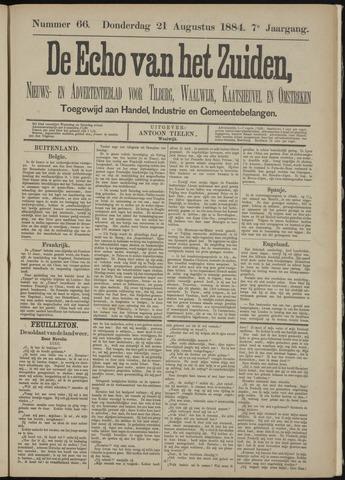 Echo van het Zuiden 1884-08-21