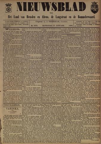 Nieuwsblad het land van Heusden en Altena de Langstraat en de Bommelerwaard 1894-01-27