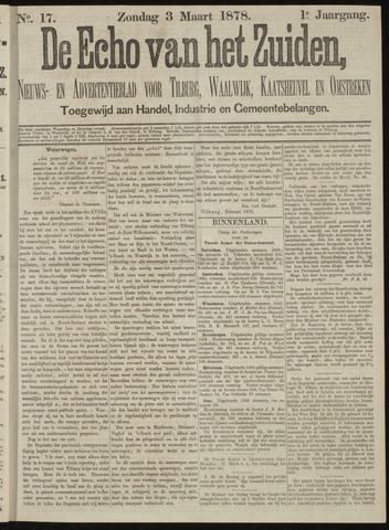 Echo van het Zuiden 1878-03-03