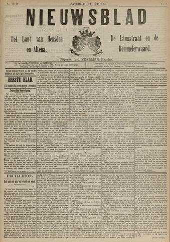 Nieuwsblad het land van Heusden en Altena de Langstraat en de Bommelerwaard 1891-10-24