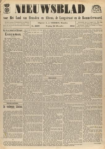 Nieuwsblad het land van Heusden en Altena de Langstraat en de Bommelerwaard 1915-12-24