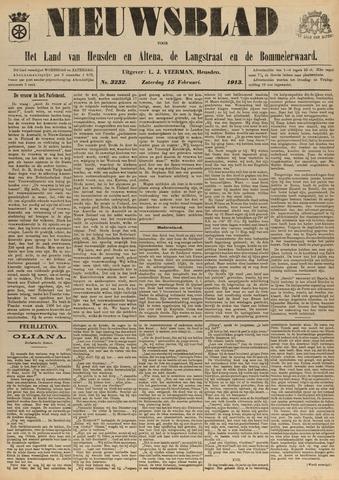 Nieuwsblad het land van Heusden en Altena de Langstraat en de Bommelerwaard 1913-02-15