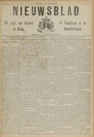 Nieuwsblad het land van Heusden en Altena de Langstraat en de Bommelerwaard 1890-12-17