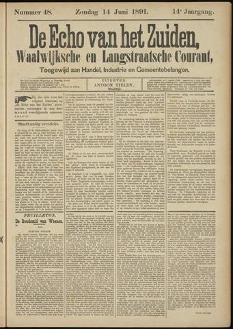 Echo van het Zuiden 1891-06-14