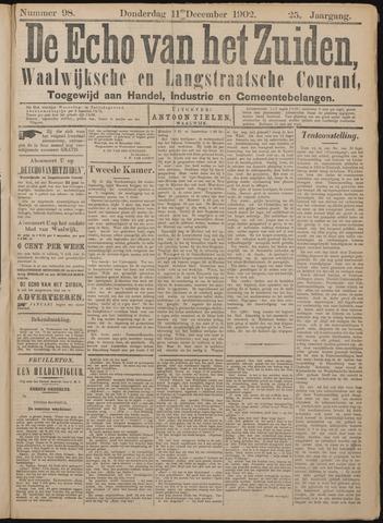 Echo van het Zuiden 1902-12-11