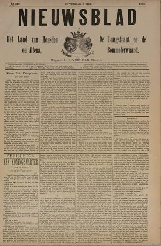 Nieuwsblad het land van Heusden en Altena de Langstraat en de Bommelerwaard 1888-05-05