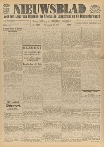 Nieuwsblad het land van Heusden en Altena de Langstraat en de Bommelerwaard 1932-07-20