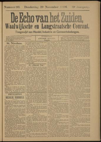 Echo van het Zuiden 1896-11-19