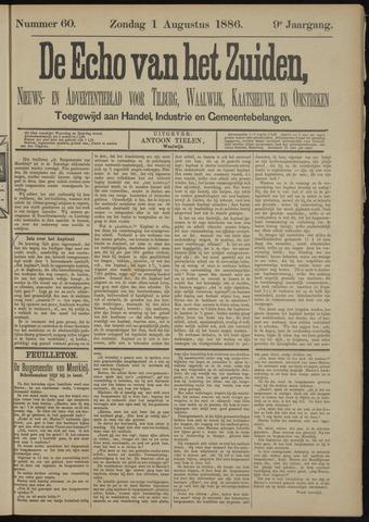 Echo van het Zuiden 1886-08-01