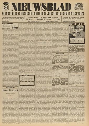 Nieuwsblad het land van Heusden en Altena de Langstraat en de Bommelerwaard 1928-02-08