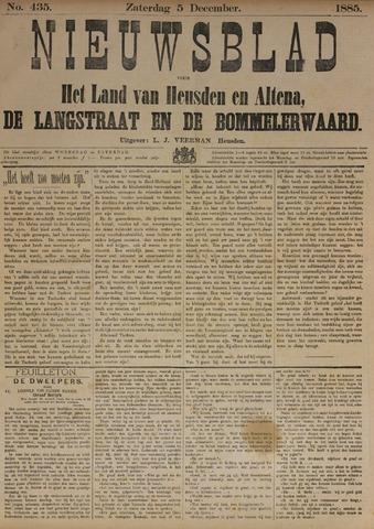 Nieuwsblad het land van Heusden en Altena de Langstraat en de Bommelerwaard 1885-12-05