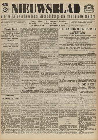 Nieuwsblad het land van Heusden en Altena de Langstraat en de Bommelerwaard 1925-06-19