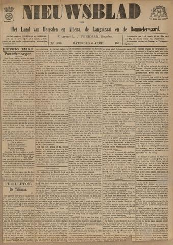 Nieuwsblad het land van Heusden en Altena de Langstraat en de Bommelerwaard 1901-04-06