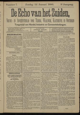 Echo van het Zuiden 1886-01-24